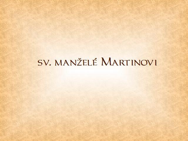 úvod Martinovi