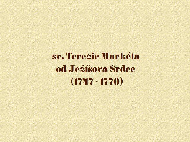 úvod Markéta