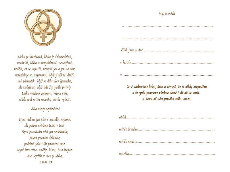 Upomínka na svátost manželství